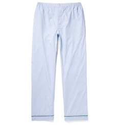 Sleepy Jones Marcel End-On-End Cotton Pyjama Trousers
