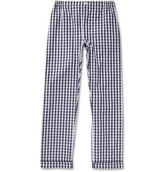 Sleepy Jones Marcel Gingham Cotton Pyjama Trousers