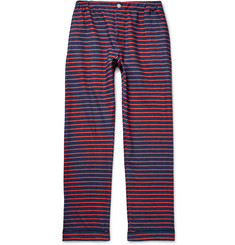 Sleepy Jones Striped Cotton-Flannel Pyjama Trousers