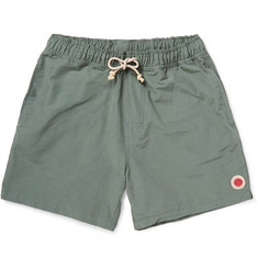 Mollusk Cotton-Blend Swim Shorts