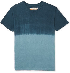 Mollusk Dip-Dyed Hemp and Cotton-Blend Jersey T-Shirt