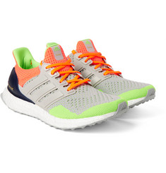 adidas Originals + Kolor Ultra Boost Rubber-Trimmed Mesh Sneakers