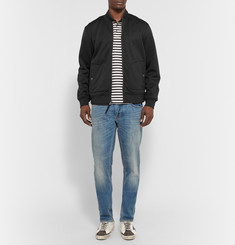 Marc by Marc Jacobs Neoprene Bomber Jacket