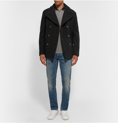Marc by Marc Jacobs Double-Breasted Wool-Blend Peacoat