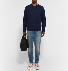 Marc by Marc Jacobs Ribbed-Knit Wool and Cashmere-Blend Sweater