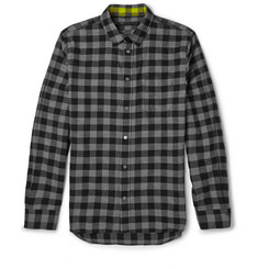 Marc by Marc Jacobs Lucas Checked Cotton-Flannel Shirt