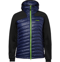 Phenix Snow Force Panelled Shell and Jersey Mid-Layer Jacket