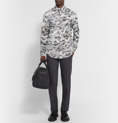 Chalayan Printed Cotton-Poplin Shirt