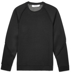 Chalayan Honeycomb-Mesh and Neoprene Sweatshirt
