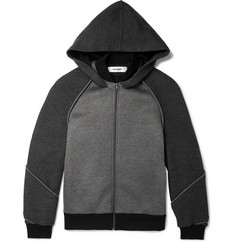 Chalayan Honeycomb-Mesh and Neoprene Hoodie