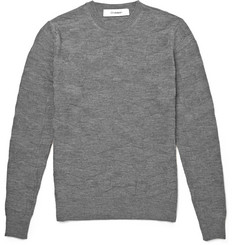 Chalayan Textured-Merino Wool Sweater