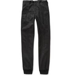 Chalayan Slim-Fit Cotton-Twill Trousers