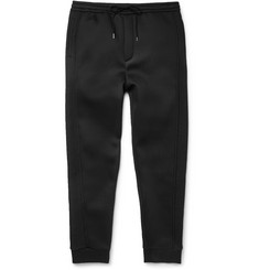 Chalayan Mesh-Panelled Wool-Blend Sweatpants