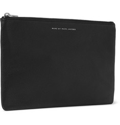 Marc by Marc Jacobs Daniel Grained-Leather Pouch