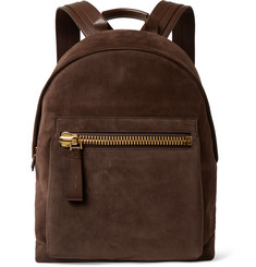 Tom Ford Leather and Suede Backpack