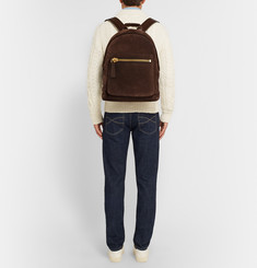 Tom Ford Leather and Suede Rucksack