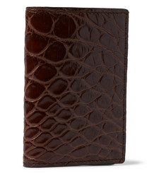 Tom Ford - Bifold Alligator Cardholder