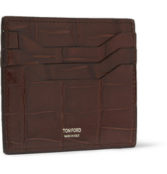 Tom Ford Alligator Cardholder