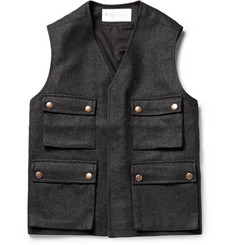 Private White V.C. Wool-Twill Gilet