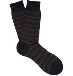 Pantherella Shoreditch Merino Wool-Blend Socks