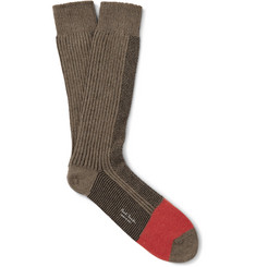 Paul Smith Shoes & Accessories Colour-Block Knitted Socks