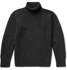 Margaret Howell Mélange Wool Rollneck Sweater