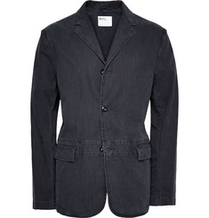 Margaret Howell MHL Unstructured Washed-Cotton Twill Blazer
