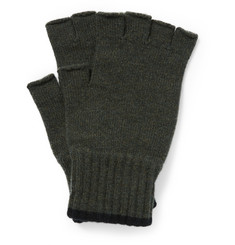 Margaret Howell Fingerless Wool Gloves