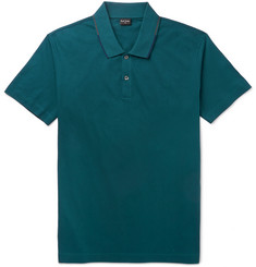 PS by Paul Smith Contrast-Trim Cotton Polo Shirt