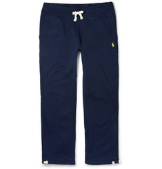 Polo Ralph Lauren - Fleece-Back Cotton-Blend Jersey Sweatpants