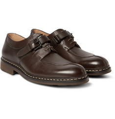 Heschung - Carrya Panelled Leather Derby Shoes