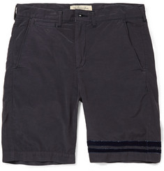 Remi Relief Cotton-Blend Shorts