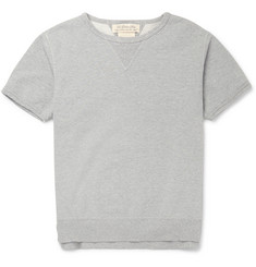 Remi Relief Loopback Cotton-Jersey Short-Sleeved Sweatshirt