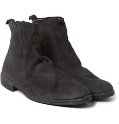 Guidi Washed-Leather Chelsea Boots