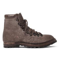 Officine Creative Kontra Washed-Suede Boots
