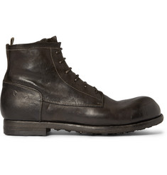 Officine Creative Leather Work Boots