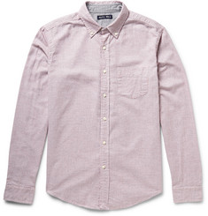 Alex Mill Tattersall-Checked Brushed-Cotton Shirt