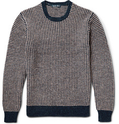 Alex Mill Slim-Fit Seed-Stitched Shetland Wool Sweater
