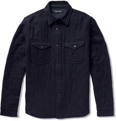 Alex Mill Quilted Wool-Flannel Shirt Jacket