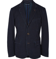 Alex Mill Indigo-Dyed Cotton-Twill Blazer