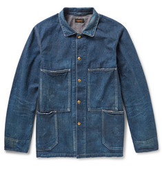Chimala Slubbed-Denim Jacket