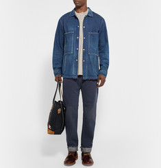 Chimala Straight-Leg Sulphur-Dyed Washed Selvedge Denim Jeans