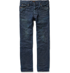 Chimala Slim-Fit Washed Selvedge Denim Jeans