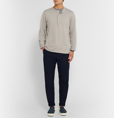 Chimala Cotton-Jersey Henley T-Shirt