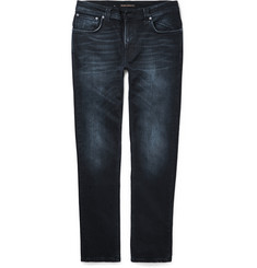 Nudie Jeans Thin Finn Slim-Fit Organic Stretch-Denim Jeans