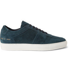 Common Projects BBall Washed-Suede Sneakers