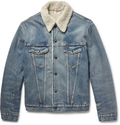 Levi's Vintage Clothing Shearling-Lined Denim Jacket