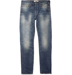 Levi's Made & Crafted Needle Narrow Slim-Fit Washed-Denim Jeans