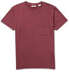 Levi's Made & Crafted Cotton and Wool-Blend Jersey T-Shirt