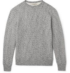 Levi's Made & Crafted Mélange Loopback Cotton-Blend Sweatshirt